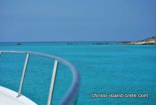 Chrissi Island from Nautilos